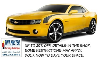 Tinting Calgary - Summer Promotion